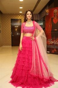Actress Vedhika New Stills @ Kanchana 3 Movie Success Meet