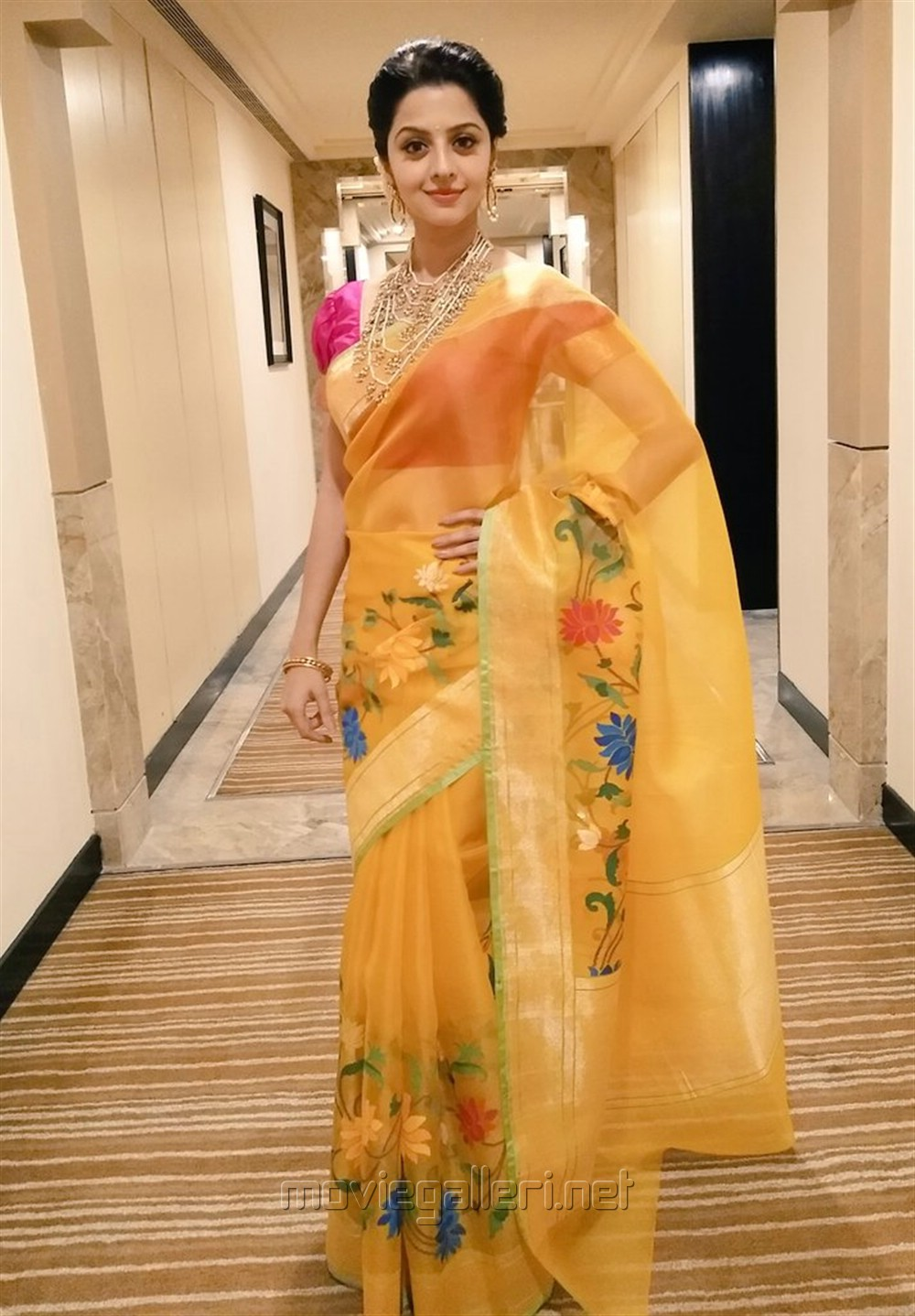 Actress Vedika New Saree Photoshoot Stills