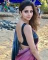 Actress Vedika Hot in Saree Photoshoot Stills