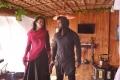 Esha Gupta, Sachin Joshi in Veedevadu Movie Stills