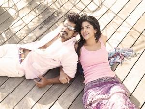 Vikram Deeksha Seth @ Veedinthe Movie Stills