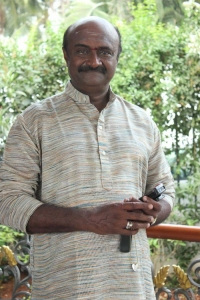 MS Baskar at Veedu Virpanaikku Movie Launch Photos
