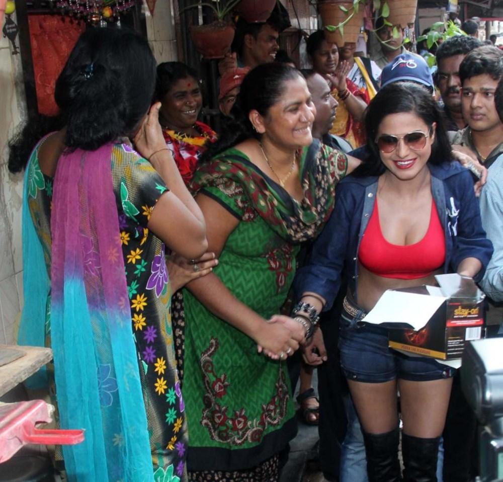 Picture 478130 Actress Veena Malik In Kamathipura Red