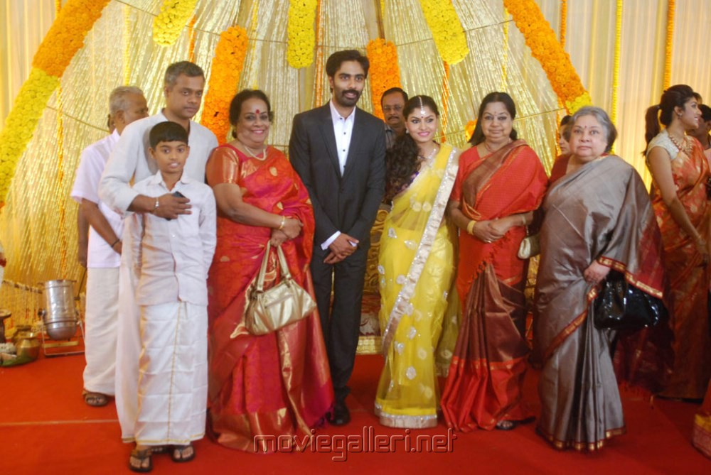 Picture 426130 Gautham Menon Family At Veera Bahu
