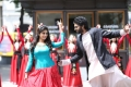 Shamili, Vikram Prabhu in Veera Sivaji Movie Images