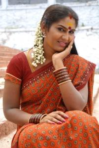 Veerangam Heroine Shyamala Devi Hot Saree Stills