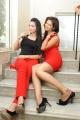 Marina, Ashwini @ Veerudokkade Audio Launch Stills
