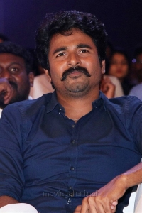 Actor Sivakarthikeyan @ Velaikaran Audio Launch Stills