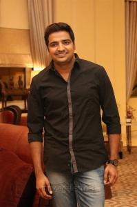Actor Sathish @ Velaikaran Audio Launch Stills