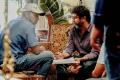 Cinematographer Ramji, Director Mohan Raja @ Velaikkaran Shooting Spot Stills