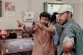 Director Mohan Raja, Cinematographer Ramji @ Velaikaran Shooting Spot Stills