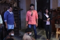 Ezhil, Vishnu Vishal, Nikki Galrani @ Velainu Vandhutta Vellaikaaran Movie Working Stills