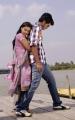 S.Sathish, Deepti Nambiar in Vellaikaagitham Movie Stills