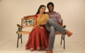 S.Sathish, Deepti Nambiar in Vellaikaagitham Movie Stills