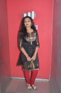 Actress Deepthi Nambiar at Vellai Kagitham Movie Team Interview Stills