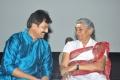 Vivek, S.Janaki at Vellaikagitham Movie Audio Launch Stills