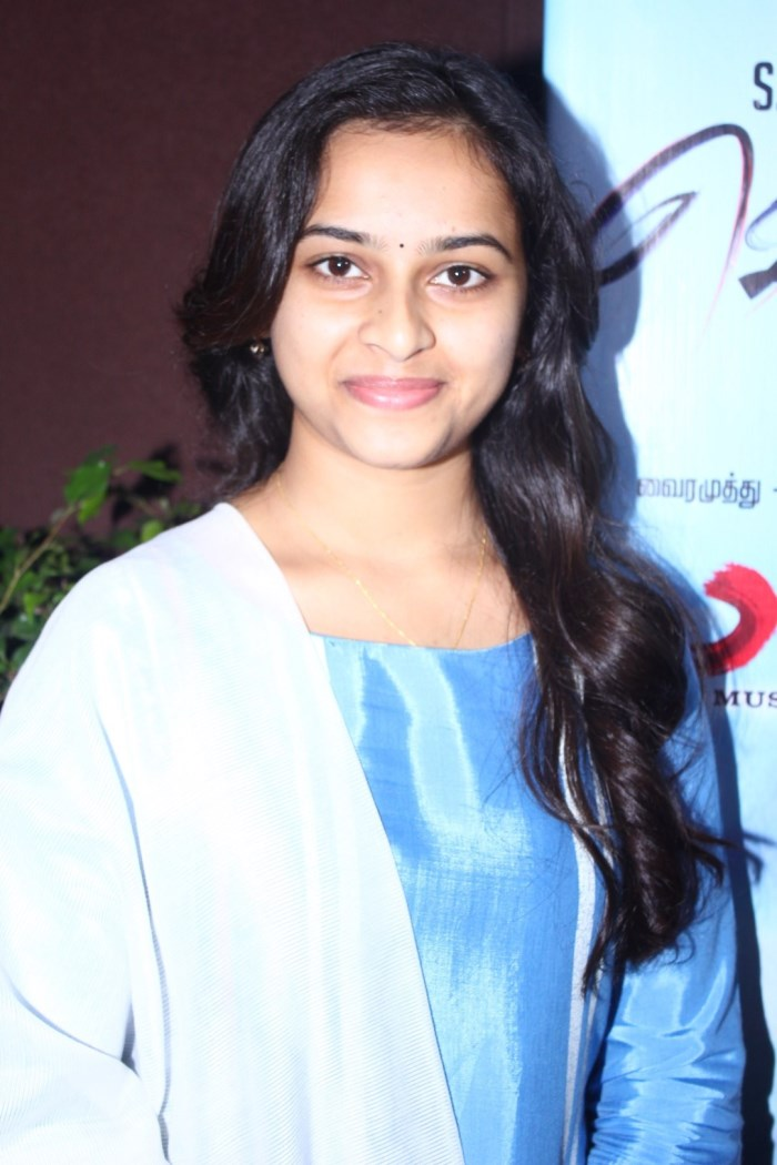 Actress Sridivya @ Vellaikara Durai Movie Audio Launch Stills