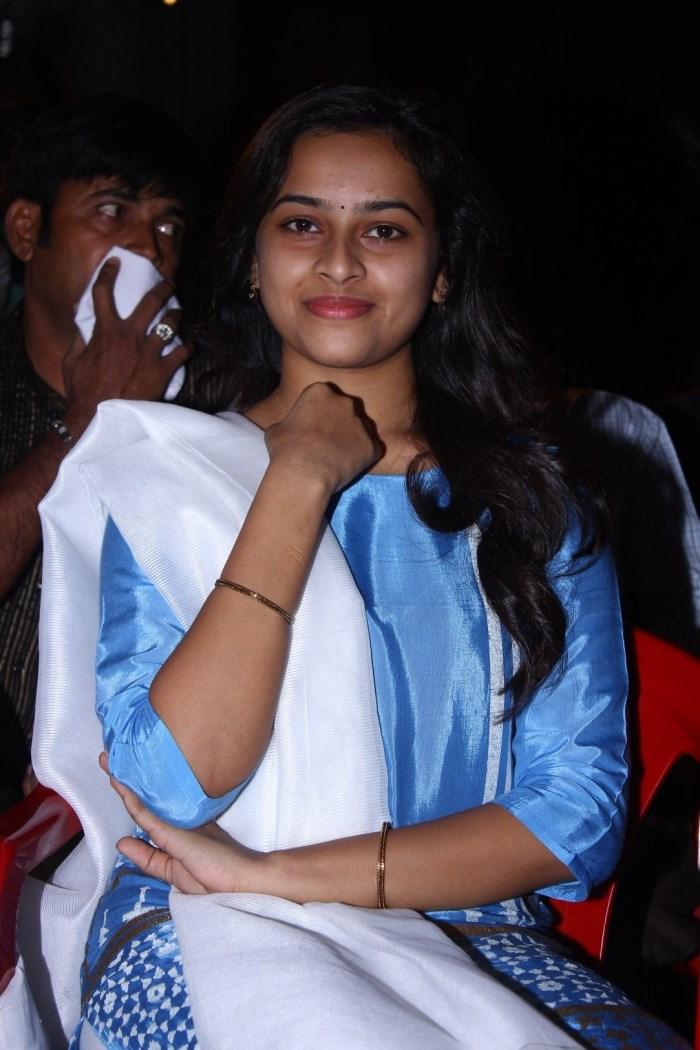 Actress Sridivya @ Vellaikara Durai Movie Audio Launch Stills