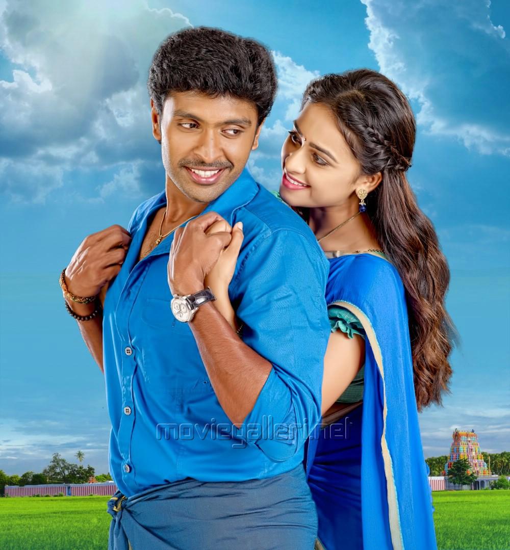 Vikram Prabhu, Sri Divya in Vellaikara Durai Movie New Stills