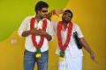 Mahesh, Ganja Karuppu in Velmurugan Borewells Tamil Movie Stills