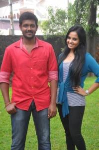 Mahesh, Aarushi @ Velmurugan Borewells Movie Team Interview Photos