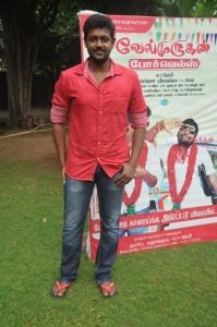 Actor Mahesh @ Velmurugan Borewells Movie Team Interview Photos