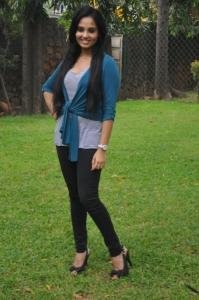 Actress Aarushi @ Velmurugan Borewells Movie Team Interview Photos