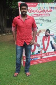Actor Magesh @ Velmurugan Borewells Movie Team Interview Photos