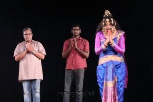 Nassar, Vishal & Manimekalai Sharma @ Velu Nachiyar Stage Play Photos