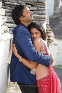 Gopichand, Deeksha Seth in Vengai Puli Movie Hot Stills