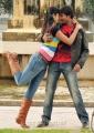 Hot Deeksha Seth, Gopichand in Vengai Puli Tamil Movie Stills