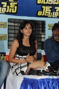 Actress Rakul Preet Singh @ Venkatadri Express Movie Press Meet Stills