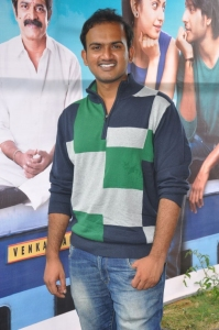 Director Gandhi @ Venkatadri Express Movie Press Meet Stills