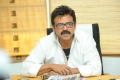 Telugu Actor Venkatesh Latest Stills at SVSC Interview