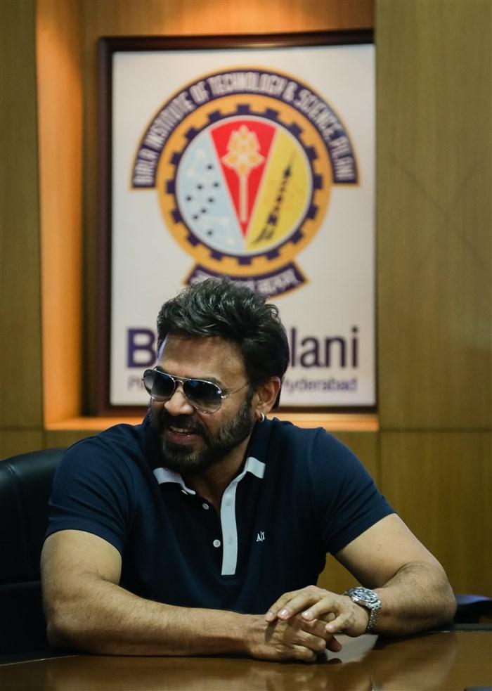 Victory Venkatesh at BITS Pilani Hyderabad Campus Photos
