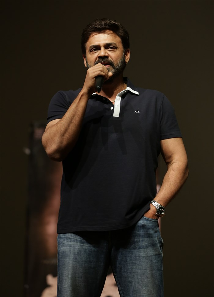 Venkatesh at Birla Institute of Technology and Science (BITS) Pilani Hyderabad Campus