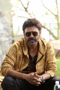 Venky Mama Movie Actor Venkatesh Interview Stills