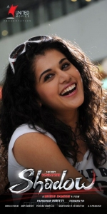 Actress Tapsee in Shadow Movie Posters