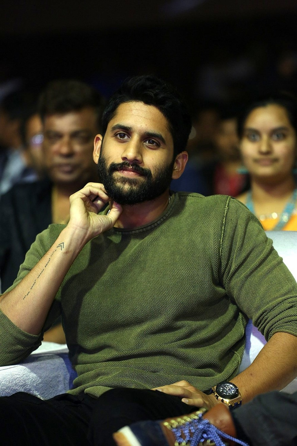 Naga Chaitanya @ Venky Mama Musical Night Photos