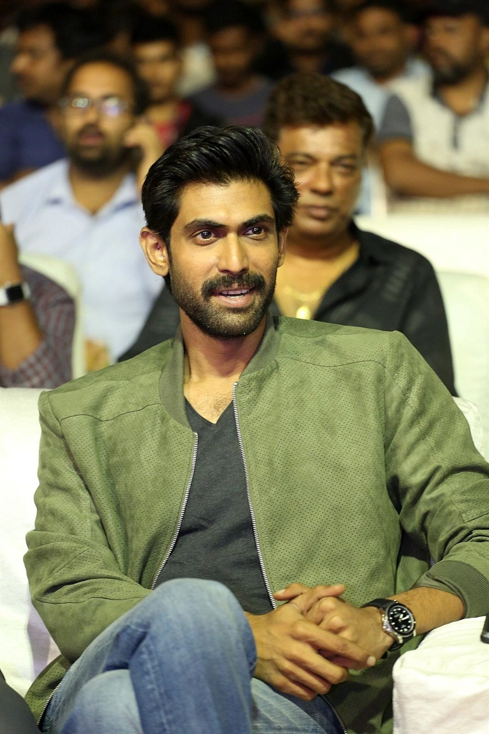 Rana Daggubati @ Venky Mama Musical Night Photos