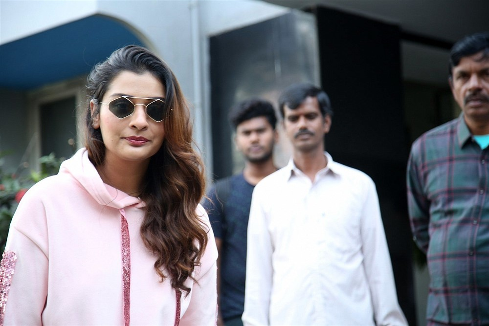 Payal Rajput @ Venky Mama Movie Success Celebration Stills