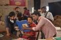 KS Ravindra, Venkatesh @ Venky Mama Movie Working Stills