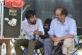 KS Ravindra, D Suresh Babu @ Venky Mama Movie Working Stills