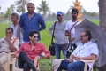 Naga Chaitanya, D Suresh Babu @ Venky Mama Movie Working Stills