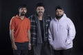 KS Ravindra, Venkatesh, Thaman @ Venky Mama Movie Working Stills