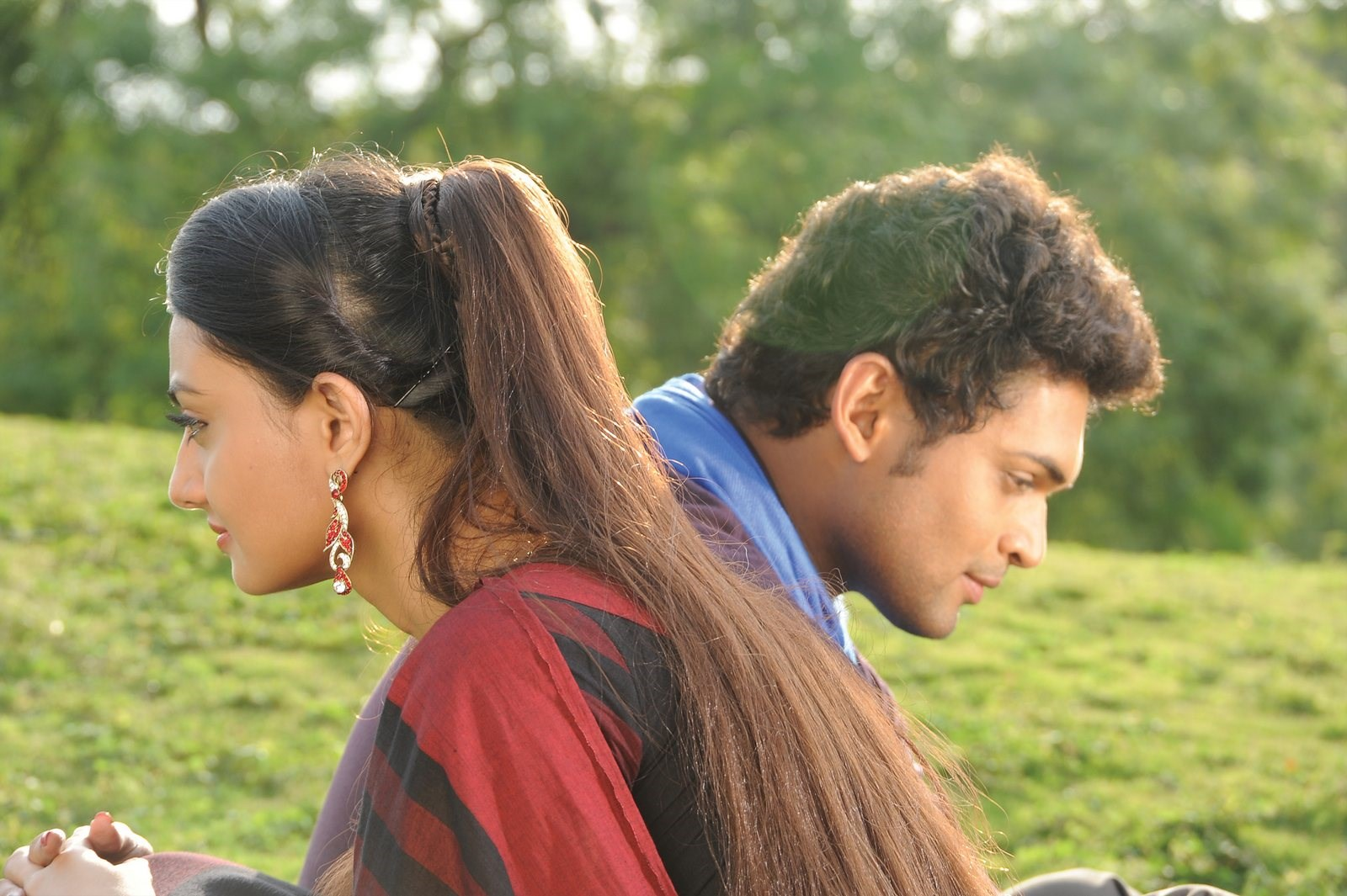 Nikitha Narayan, Ajmal Ameer in Vennello Hai Hai Telugu Movie Stills