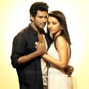 Vishal, Trisha in Vetadu Ventadu Movie Stills
