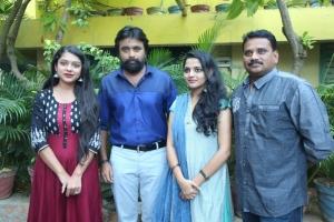 Varsha, Sasikumar, Nikila, Vasantha Mani @ Vetrivel Movie Team Interview Stills