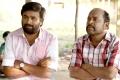 Sasikumar, Thambi Ramaiah in Vetrivel Tamil Movie Stills