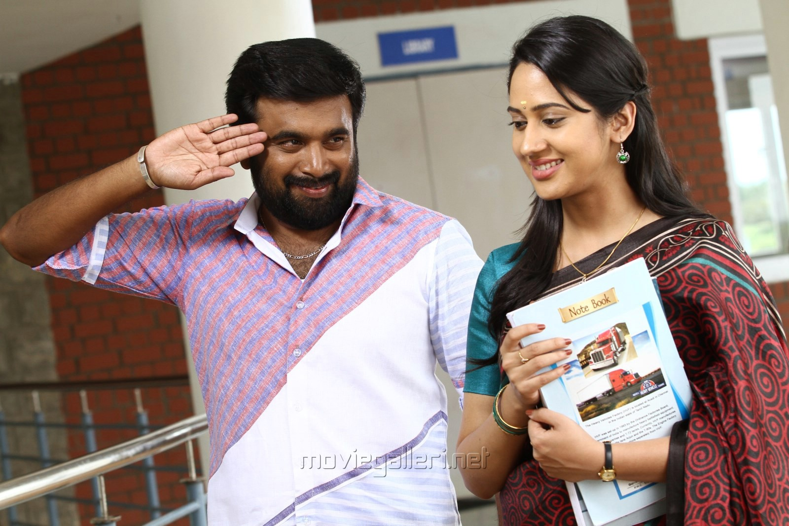 Sasikumar, Miya George in Vetrivel Tamil Movie Stills